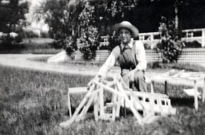 Ernest with Construction