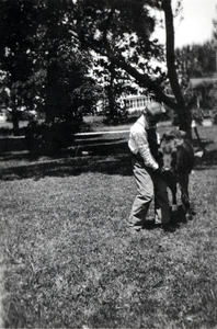 Ernest with Horse