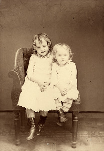 Willie E. Robin and Young Girl