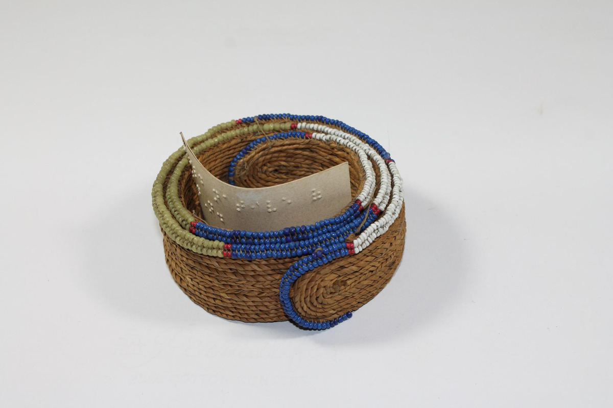 Beaded anklet from South Africa
