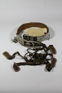Woman's beaded belt, South Africa