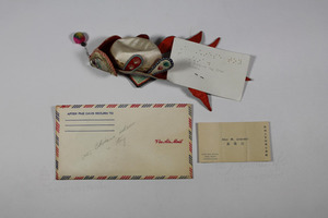 Envelope, Calling Card, and Chinese Toy
