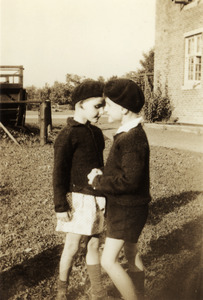 Jimmy and Margaret with Berets