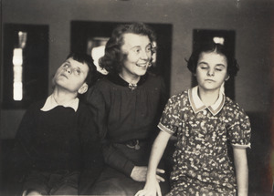 Allen Twins with Gertrude Stenquist