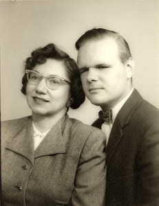 Portrait of Leonard and His Wife Betty