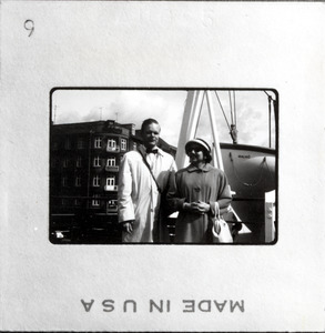 Leonard and Betty Dowdy in Scandinavia
