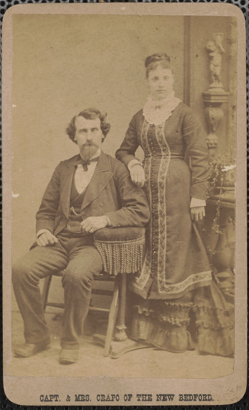 Captain and Mrs. Crapo of the New Bedford