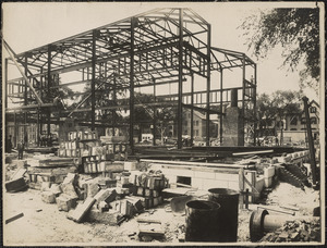 Construction of US Post Office, New Bedford