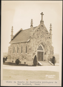 Chapel in Portuguese Cemetery, New Bedford