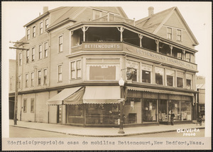 Bettencourt Furniture Co., New Bedford