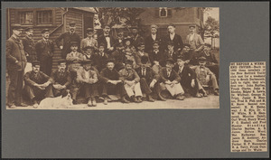 Just before a week end cruise, back in 1889 these members of the New Bedford Yacht club met for a weekend trip to South Dartmouth