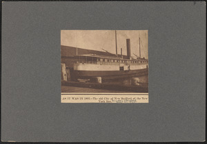 As it was in 1891, the old City of New Bedford of the New York line
