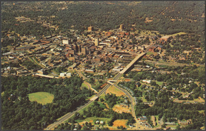 Aerial view of Greenville, S.C.