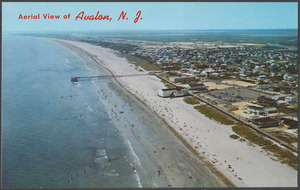 Aerial view of Avalon, N. J.