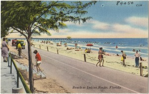 Beach at Indian Rocks, Florida