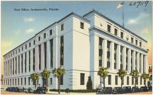Post office, Jacksonville, Florida