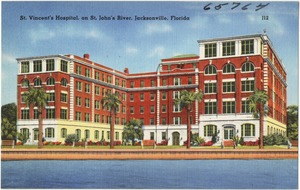 St. Vincent's Hospital on St. John's River, Jacksonville, Fla.