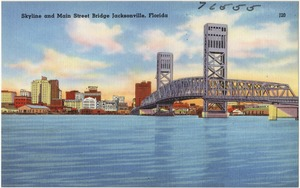 Skyline and Main Street Bridge, Jacksonville, Florida