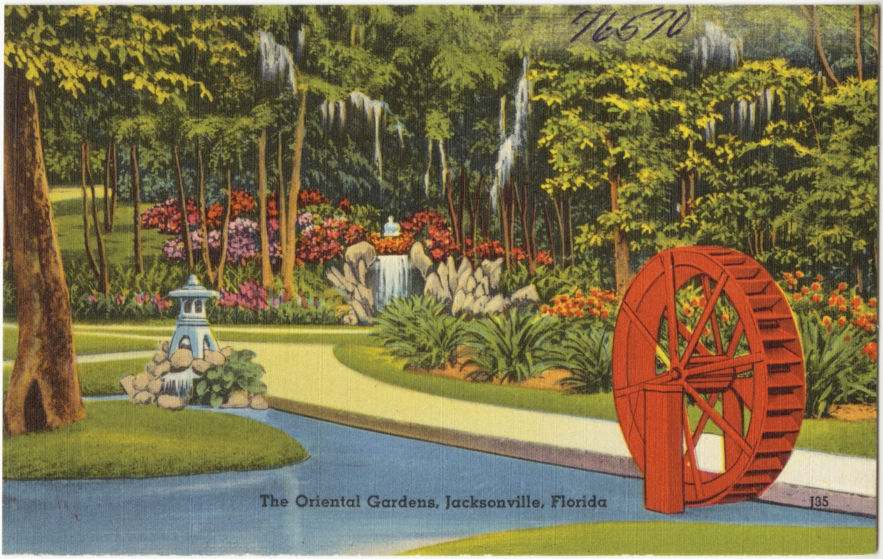 The oriental gardens, Jacksonville, Florida - Digital Commonwealth