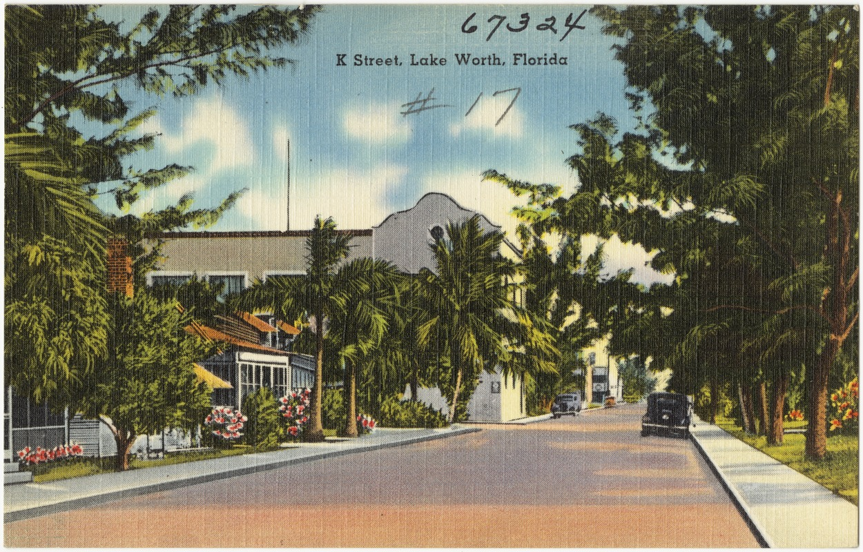 K Street, Lake Worth, Florida