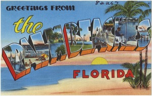 Greeting from the Palm Beaches, Florida