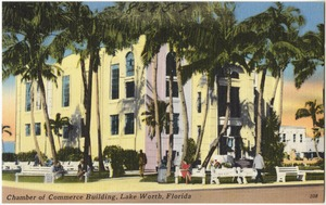 Chamber of Commerce building, Lake Worth, Florida