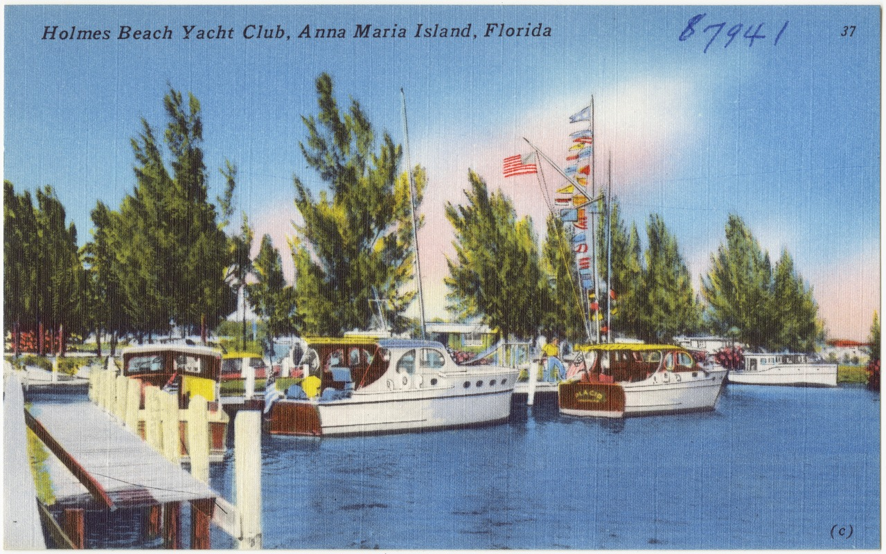 Holmes Beach Yacht Club, Anna Maria Island, Florida - Digital