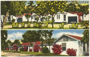 Burger's Cottages, Route 41 in Bradenton, Florida