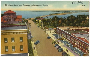Cleveland Street and causeway, Clearwater, Florida