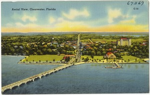 Aerial view, Clearwater, Florida