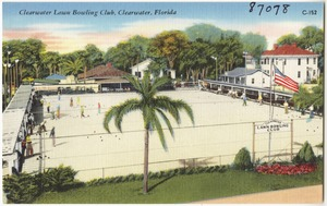 Clearwater lawn bowling club, Clearwater, Florida