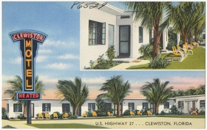 Clewiston Motel U.S. highway 27, Clewiston, Florida