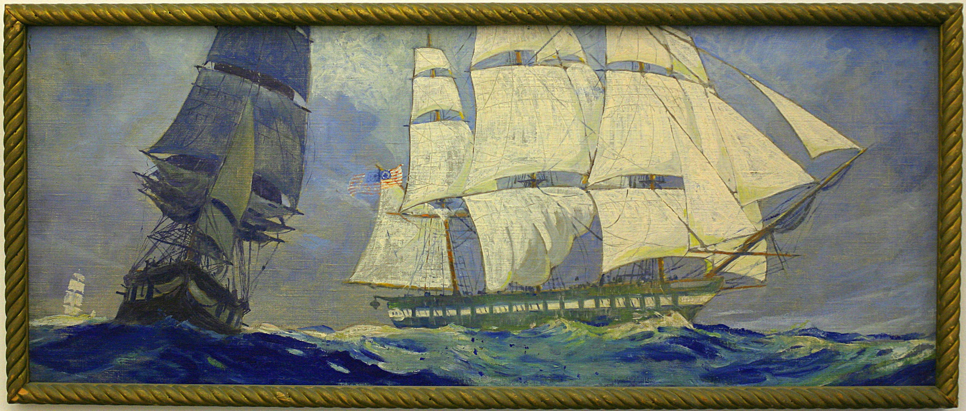 """Ships Through the Ages: Frigates """"Constitution"""" and """"Boston"""""""