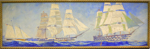 "Ships Through the Ages: Yacht ""America,"" Ships of the Line - ""Pennsylvania"" and ""Cumberland"""
