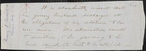 William Burnet Kinney manuscript fragments of letters to Ralph Waldo Emerson, [Turin] copy, 2 May 1853?
