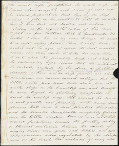 Margaret Fuller autograph letter (incomplete) to William Henry Channing, Newport, 31 July 1841