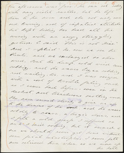 Margaret Fuller autograph letter to William Henry Channing, Paradise Farm, R. I., 6 August 1841
