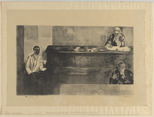 A judge and a music-hall artist