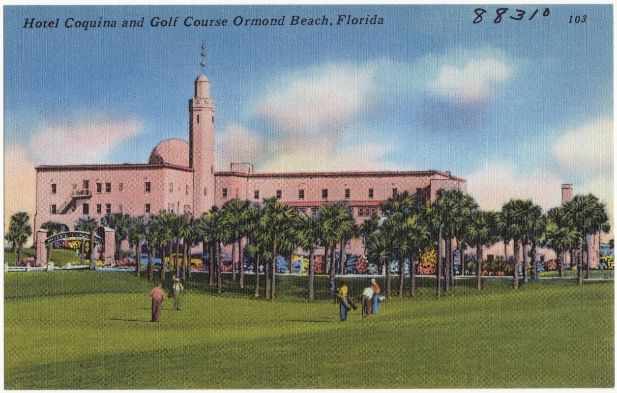 Hotel Coquina And Golf Course Ormond Beach Florida