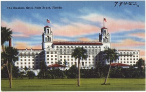 The Breakers Hotel, Palm Beach, Florida
