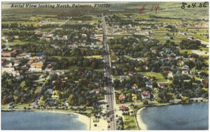 Aerial view looking north, Palmetto, Florida