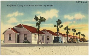 Bungalows at Long Beach Resort, Panama City, Florida