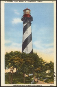 Anastasia Light House, St. Augustine, Florida, the oldest city in the United States