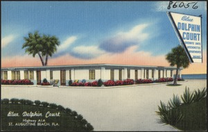 Blue Dolphin Court, highway A1A, St. Augustine Beach, Florida