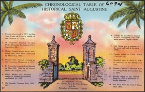 Chronological table of historical Saint Augustine