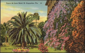 Ponce de Leon Hotel, St. Augustine, Florida, the oldest city in the United States