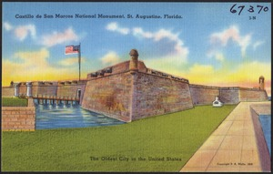 Castillo de San Marcos National Monument, St. Augustine, Florida, the oldest city in the United States