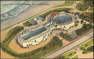 Aerial view of Marine Studios, Marineland, Florida