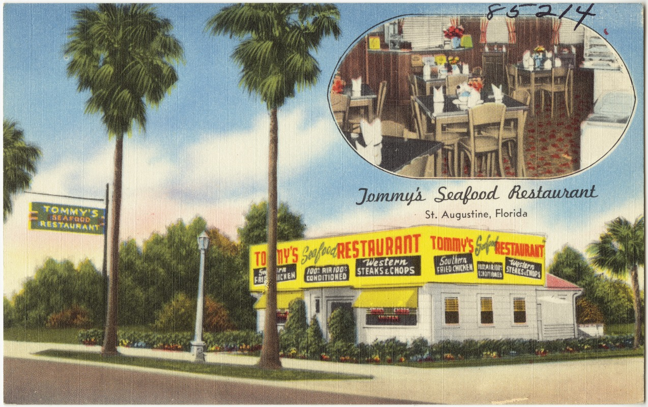 Tommy S Seafood Restaurant St Augustine Florida
