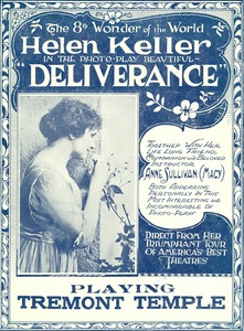 "Front page for pamphlet for ""Deliverance"""